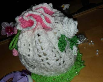 Tea Cosy with Rose Detail