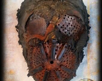 Scavenger mask - post apocalyptic - wasteland survivor