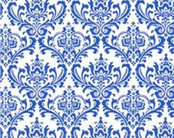 Placid Blue Madison Damask Premier Prints no.051