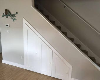 Below Stairs storage Cabinet