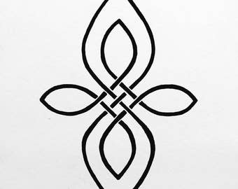 """Celtic Symbol - """"Mother and Daughter"""""""