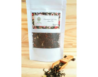 Hawaiian Earl Grey Tea. Tropical twist on classic earl grey tea.