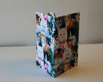 Handmade Kitten (Cat) Notebook/Journal