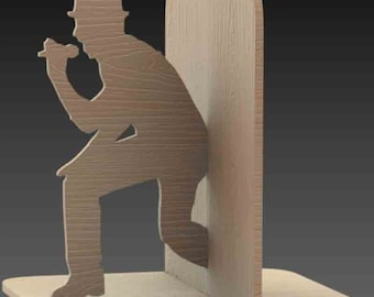 Bookend holder Singer, piano player, piano
