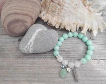 Turquoise jade bracelet