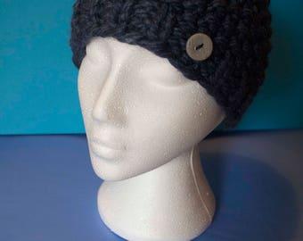 Handmade unique ladies wool/silk hat
