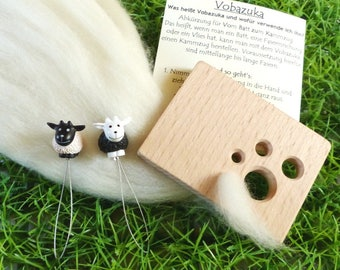 International set Vobazuka (diz) with sheep Threading aid-limitiert-