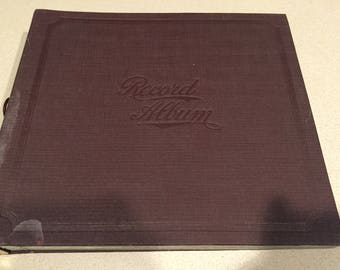 "Lot of 4 Orchestra Dance-Brunswick 78 RPM 10"" Records In Old Record Album"
