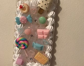 Hard snap on deco case [ Sweets ]