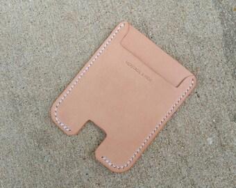 The Pusher Wallet ~ Natural VegTan