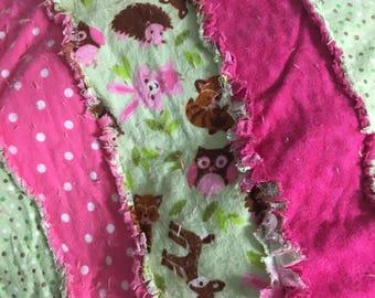 Baby rag blankets