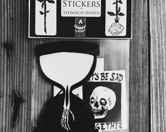 Stomach Hands Sticker Pack 1