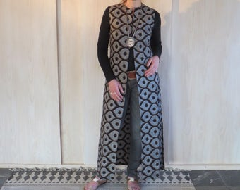 Long tunic in Vliscostof, made from strong cotton