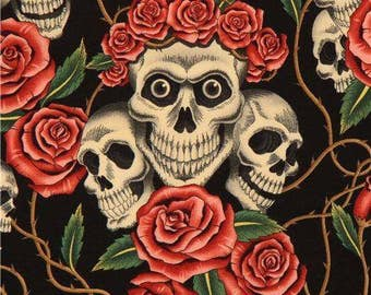 Alexander Henry- Rose Tattoo Fabric