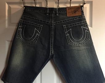 True religion authentic jeans short size 40