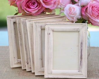 Wedding Frame Shabby Chic Rustic Distressed Paint by Steven and Rae Designs (item P10332)