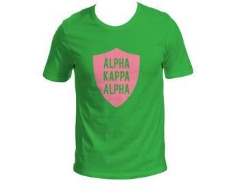 Alpha Kappa Alpha crest shirt HBCU AKA Greek graduation skee wee