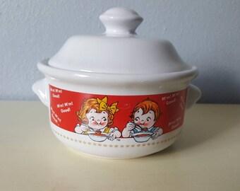Campbells small casserole dish