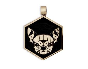 Chihuahua Dog Bronze Medal