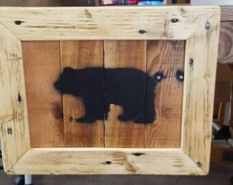 Lodge Bear Art