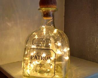 Patron Liquor Lamp