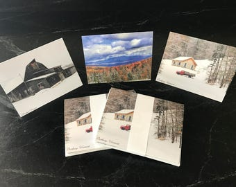 Note Cards with Envelops Original Vermont Landscapes