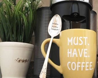 Personalized, Coffee, Mug, MUST.HAVE.COFFEE.