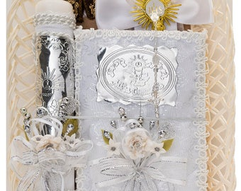 Mx-188 First Communion candle set