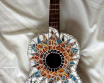 """Mosaic Guitar """"Flora"""""""