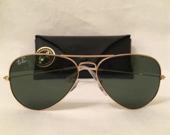 ray ban pilot aviator sunglasses  Ray ban aviator