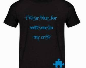 Boys MLR autism awareness shirt