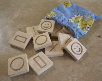 Wooden Toy/Wooden Game Memory/