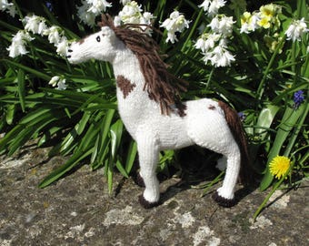 Knitted Toy Horse
