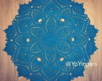 Handmade Crochet Heirloom Centrepiece Doily - Doily #7 by Patricia Kristoffersen 100% cotton