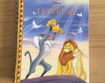 The Lion King Rebound Notebook