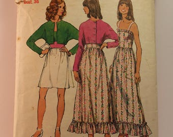 Vintage Sewing Pattern Simplicity Dress 5508 Size 14