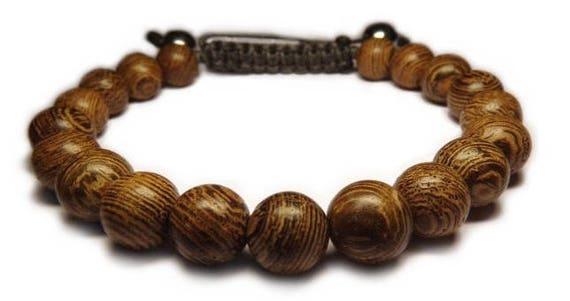 Bracelet wood beads