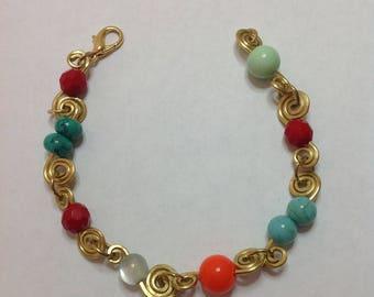 Wire Multicolor Bracelet