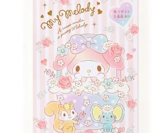 My Melody 8 Design Notes memo kawaii SANRIO from Japan