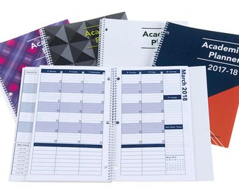 2017-2018 Academic Planner: A Tool For Time Management® LETTER-SIZE 8-1/2 x 11