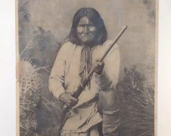 Original Geronimo Poster