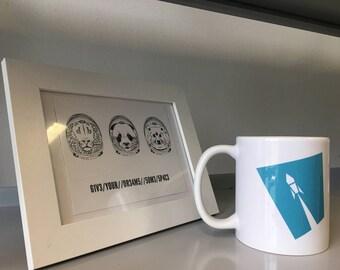 Rakete *** Weltraum Space ROCKET *** Coffee Tea Mug