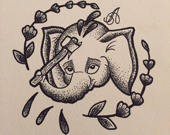 L'elephant Desespere