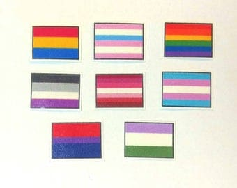 Stickers - Pride Flags