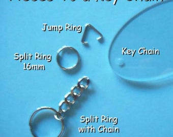 Triangle Jump Rings ~ 3 Pieces in Each Bag
