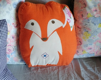 Fox critter pillow