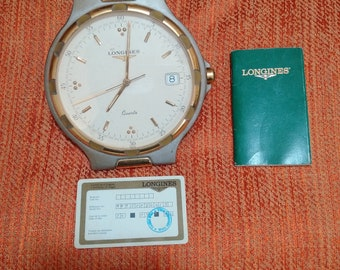 Original Longines Clock (Heavy Duty Gold)