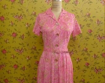 Vintage 1960's Shelton Stroller Dress