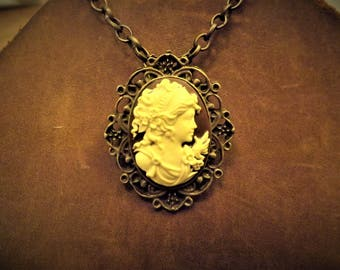 Greek Goddess Pendant Necklace