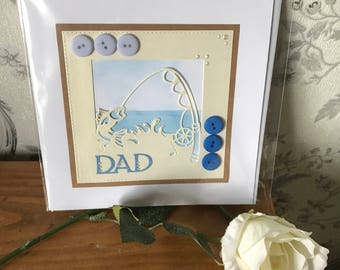 Handmade dad birthday / Father's Day card